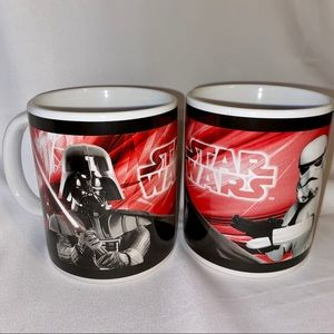 STAR WARS MUGS by GALERIE SET OF TWO 2